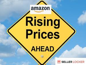 Amazon FBA fullfilment fee increasing June 2021