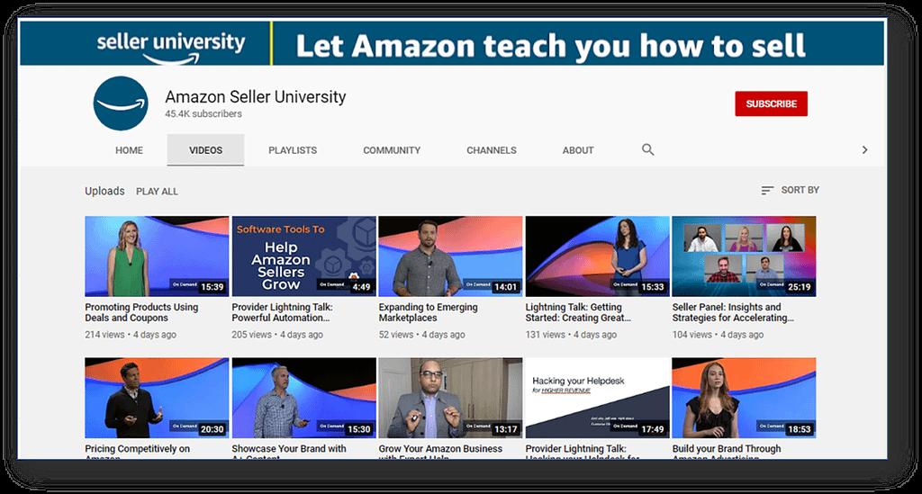 Amazon Seller University - FBA Seller As Business